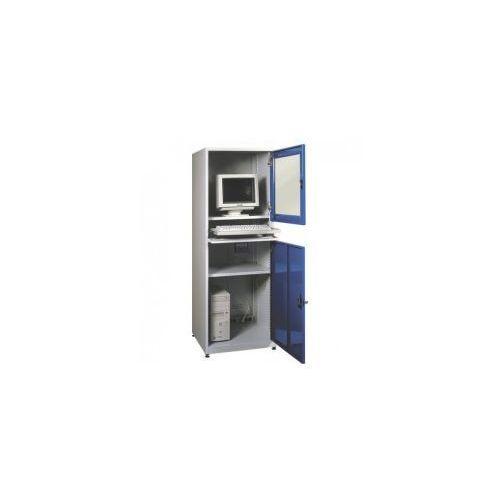Malow Metalowa szafka pod komputer przemysłowy smk 1a