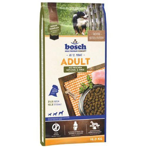 Bosch  adult mit geflugel&hirse (drób i proso) 15kg