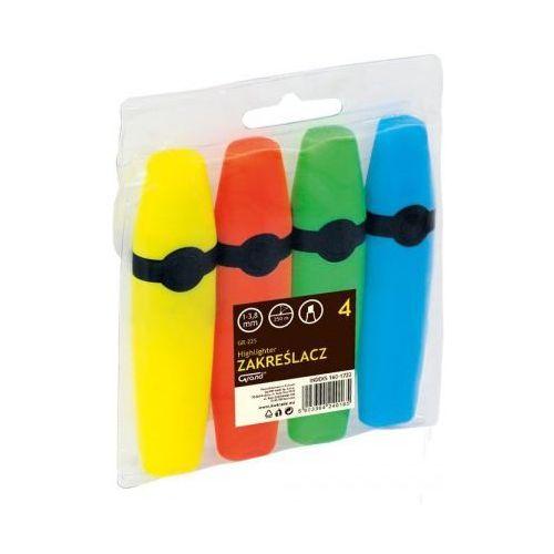 Kw trade Zakreślacz gr-225 4 kolory (5903364240165)