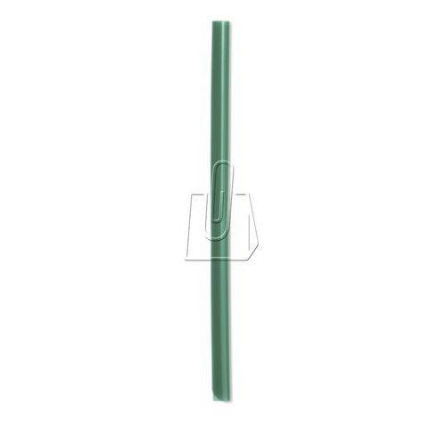 Grzbiet zaciskowy A4 szer.13mm gr. 6mm na 60 kartek zielony 100 sztuk 2901 05
