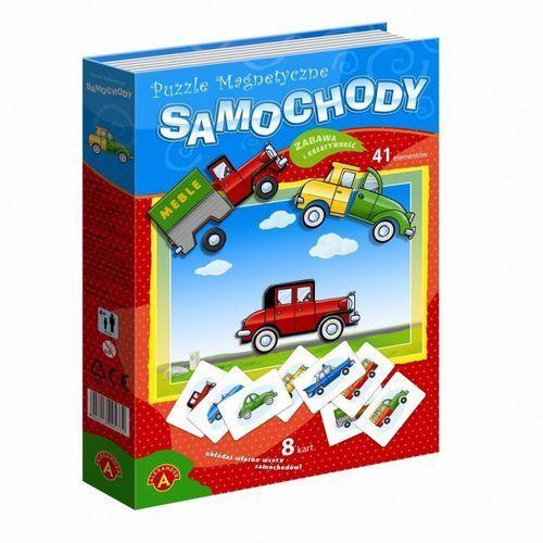 Alexander puzzle magnetyczne samochody (5906018007602)