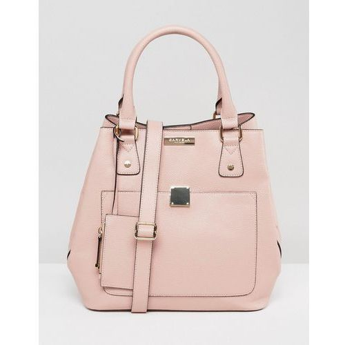 Carvela bucket bag with hardware detail - pink
