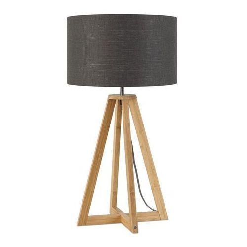 EVEREST-Lampa stojaca Bambus & Len Naturalny Wys.34cm (8716248074704)