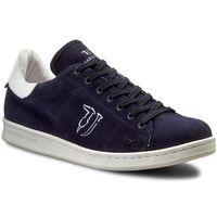 Sneakersy - 77s231 149 granatowy marki Trussardi jeans