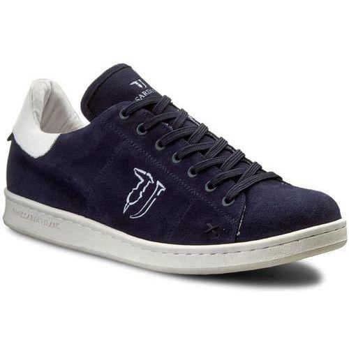 Sneakersy - 77s231 149 granatowy, Trussardi jeans, 44-46