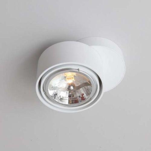 Spot lampa sufitowa himi 1121/gu10/bi natynkowa oprawa metalowa biały marki Shilo