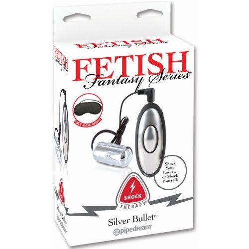 Srebrny Bullet - Elektrostymulacja - produkt z kategorii- Pozostałe BDSM