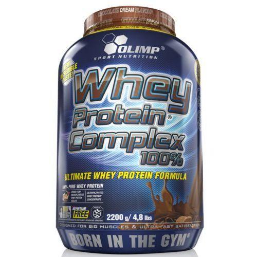 whey protein complex 2200g czekolada - czekolada marki Olimp