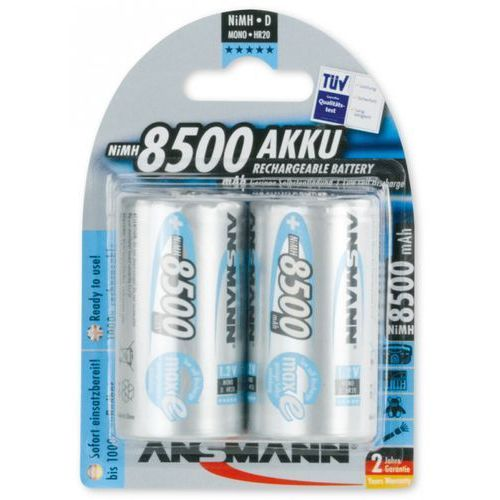 Bateria ANSMANN maxE 2x Mono D (2 sztuki)