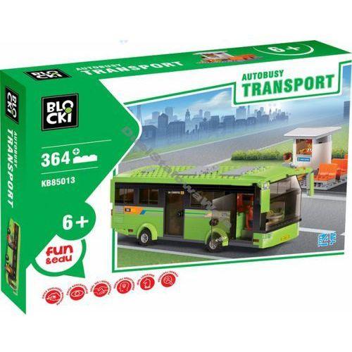 Klocki Blocki Transport Autobus i kiosk 364 elementy
