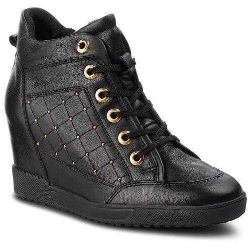 Sneakersy - d carum c d84asc 08554 c9999 black, Geox, 39-41