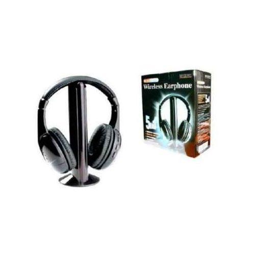 5w1! Wielofunkcyjne Słuchawki Bezprzewodowe Wireless + Mikrofon + Radio FM...