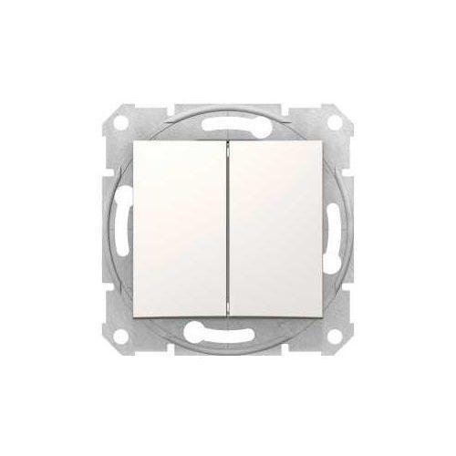 Schneider Przycisk chwilowy podwójny sedna sdn1100123 kremowy (8690495033212)