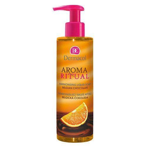 aroma ritual liquid soap belgian chocolate 250ml w mydło w płynie marki Dermacol