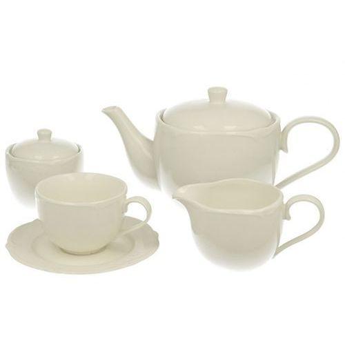 serwis do kawy i herbaty 15 ele. luxury kawowy marki Duo