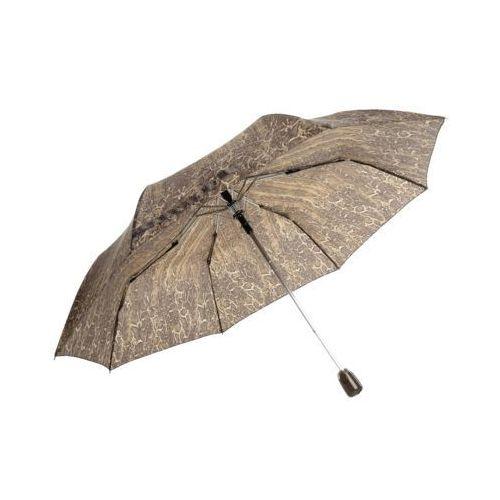 Parasol krótki brązowy marki Perletti