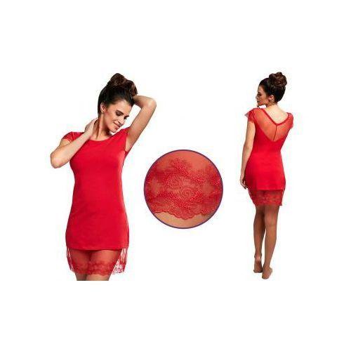 Koszula nocna ESTELLE: czerwień