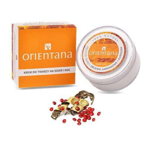 krem do twarzy drzewo sandałowe i kurkuma 50g marki Orientana
