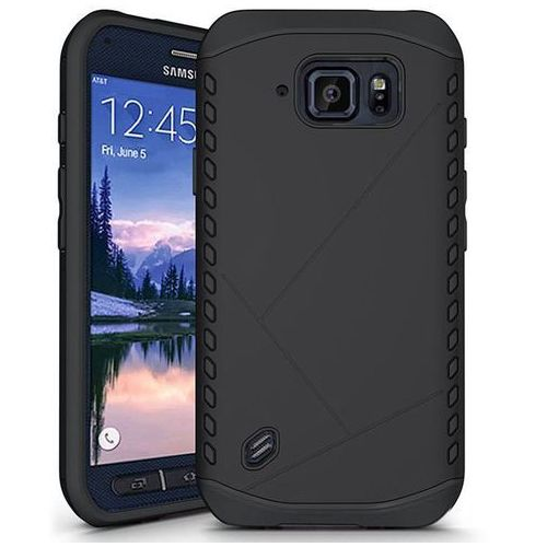 Tech-protect  combat black | obudowa dla samsung galaxy s6 active (99996901)