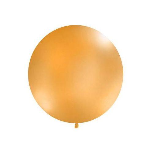 Twojestroje.pl Balon gigant pomarańczowy 100cm 1 szt.