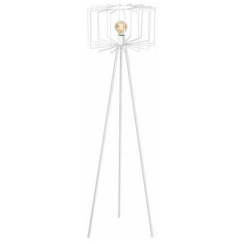 Luminex wire 1180 lampa stojąca podłogowa 1x60w e27 biała