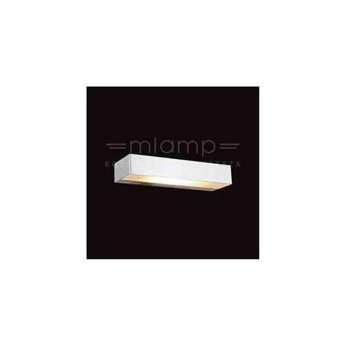 Orlicki design Kinkiet lampa ścienna bastone 230 przyścienna oprawa prostokątna belka aluminium