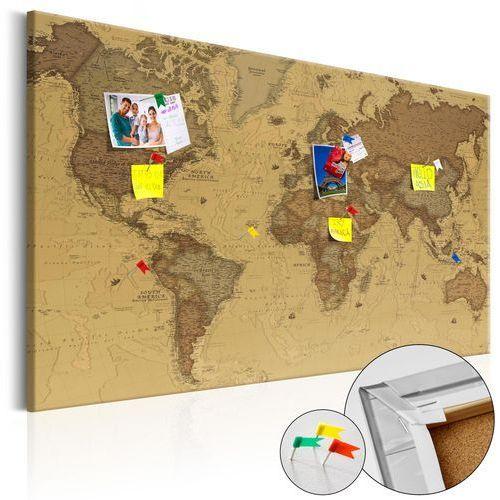 Obraz na korku - starożytna mapa świata [mapa korkowa] marki Artgeist