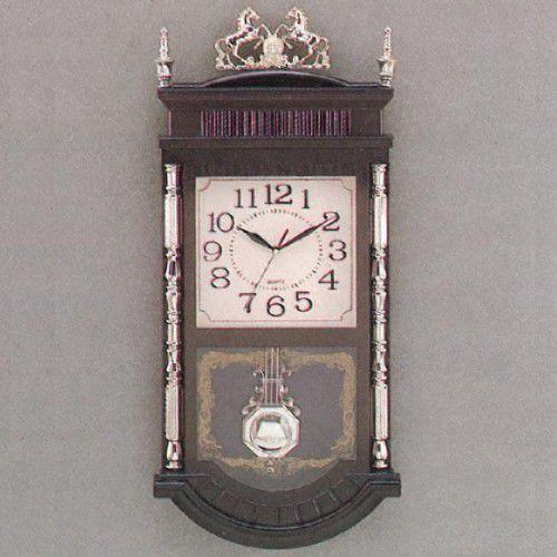 Atrix Duży zegar z muzyką i wahadłem #t608g