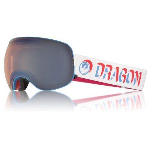 Gogle snowboardowe - x2 four verge/flblue+dksmk (867) rozmiar: os marki Dragon