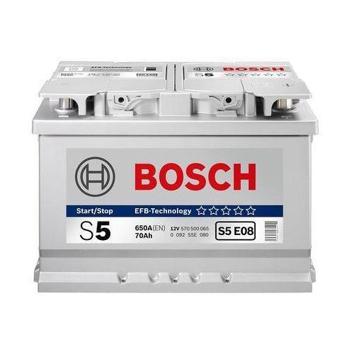 BOSCH S5 (12V 77Ah 780A) [polaryzacja P+]