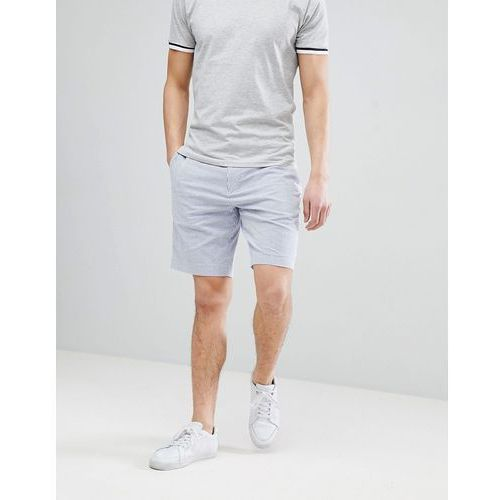 Polo ralph lauren seersucker stripe chino shorts with multi polo player - blue