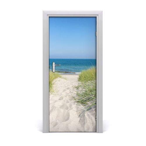 Naklejka na drzwi samoprzylepna nadmorskie wydmy marki Tulup.pl