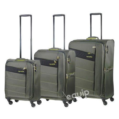 Travelite Zestaw walizek  kite - khaki, kategoria: torby i walizki