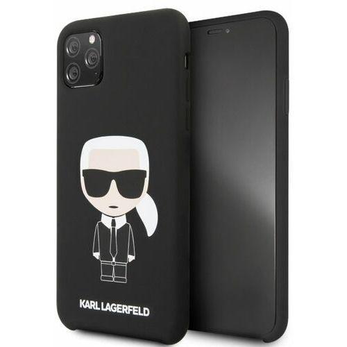 Karl Lagerfeld KLHCN65SLFKBK iPhone 11 Pro Max hardcase czarny/black Silicone Iconic, kolor czarny