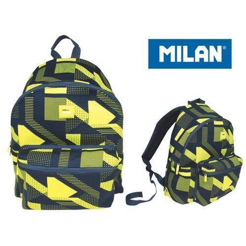 Plecak duży 21 l knit żółty marki Milan