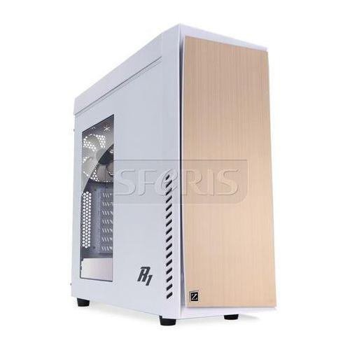 Obudowa Zalman R1 White Midi Tower, bez PSU, USB 3.0 - R1 WHITE