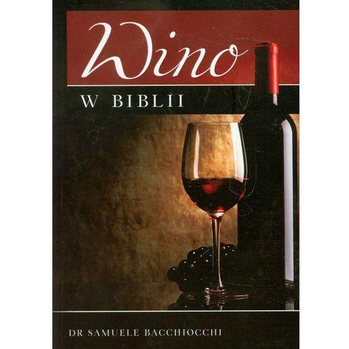 Wino W Biblii, oprawa miękka