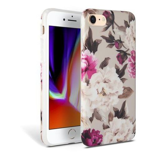 Tech-protect floral etui do iphone 7/8 wielokolorowe