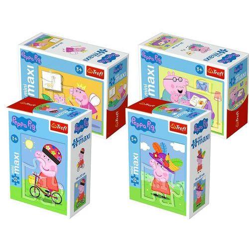 20 elementów Mini Maxi, Świnka Peppa/ 24 sztuki, 5_597801