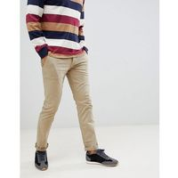 shino slim chino in beige - beige, Boss