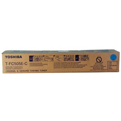 Toner Toshiba T-FC505E-C Cyan do kopiarek (Oryginalny) [33.6k] (4519232170789)
