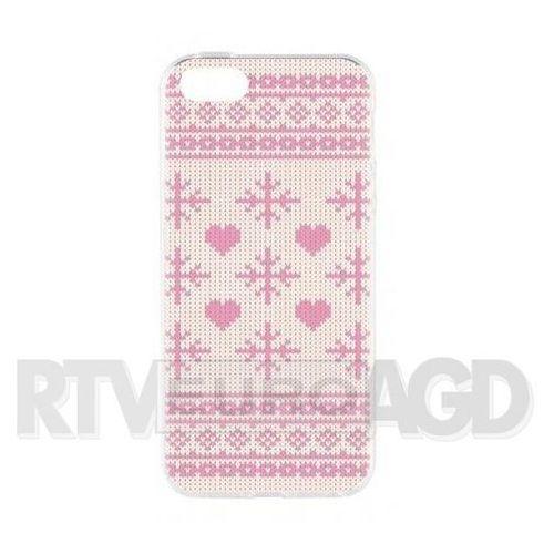 Flavr Case Ugly Xmas Sweater iPhone 5/5s/SE (różowy), 27417