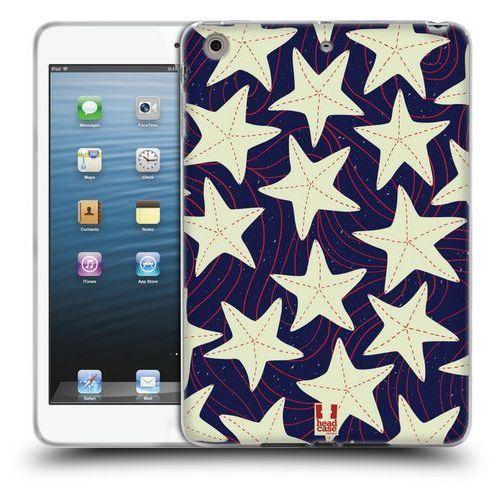 Etui silikonowe na tablet - Marine Patterns White Starfish