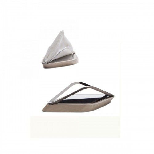 Bugatti Trattoria stojak (łódka) na ręczniki papierowe. jasne drewno