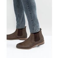 chelsea boots in brown - brown marki River island