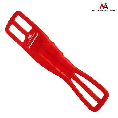 Uniwersalny uchwyt rowerowy Maclean Flex MC-770R czerwony - Czerwony