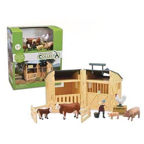 Collecta 89882 stodoła z akcesoriami i figurkami (004-89882)