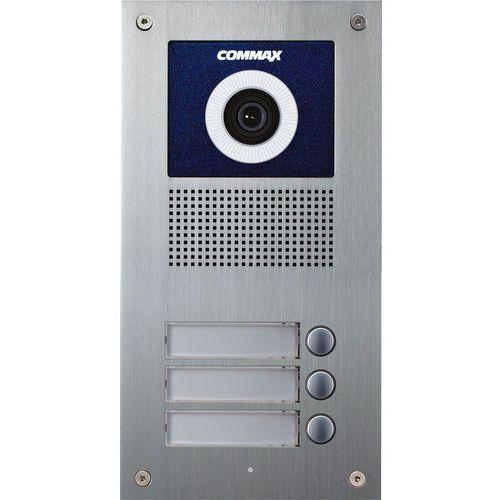 Commax Kamera 3-abonentowa z regulacją optyki i czytnikiem rfid drc-3uc/rfid