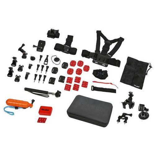 Rollei Action Sport XL 47 częściowy zestaw akcesoriów do akcesoria Czarny (4048805216437)