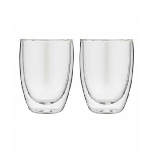 Forever Zestaw 2 filiżanek termicznych do cappuccino 2 x 200 ml podwójna szklana ścianka, 851